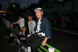 葛飾区お花茶屋のお祭り 上千葉香取神社大祭 2009