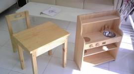 木製キッズ家具