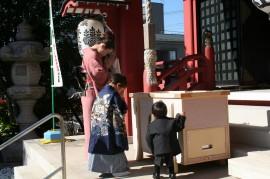 七五三 上千葉香取神社